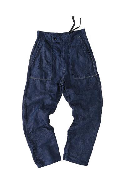 Komugi Cotton Denim 908 Baker Pants 1 (0521)
