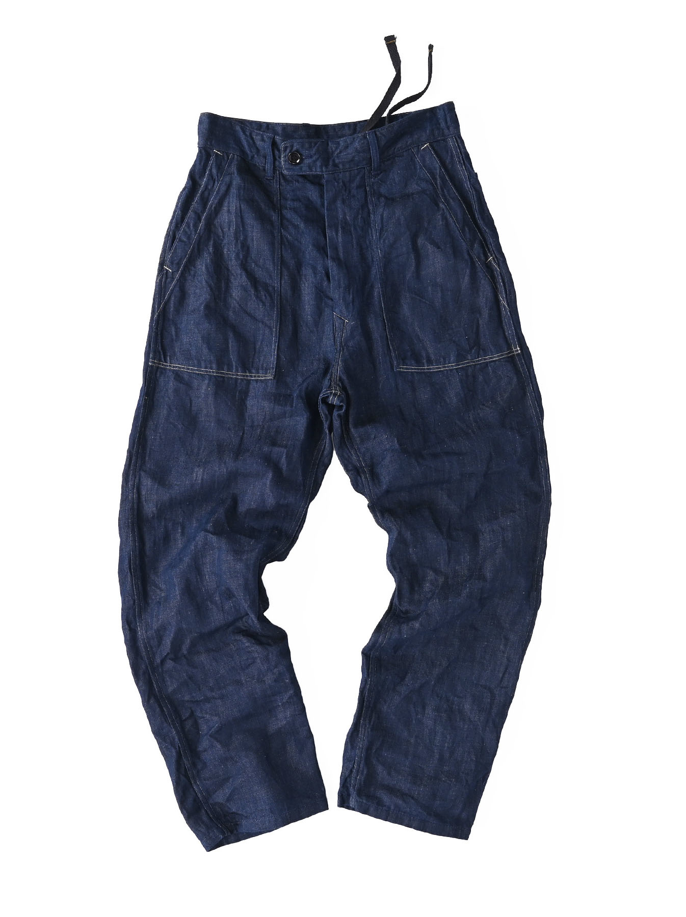 Komugi Cotton Denim 908 Baker Pants 1 (0521)-1