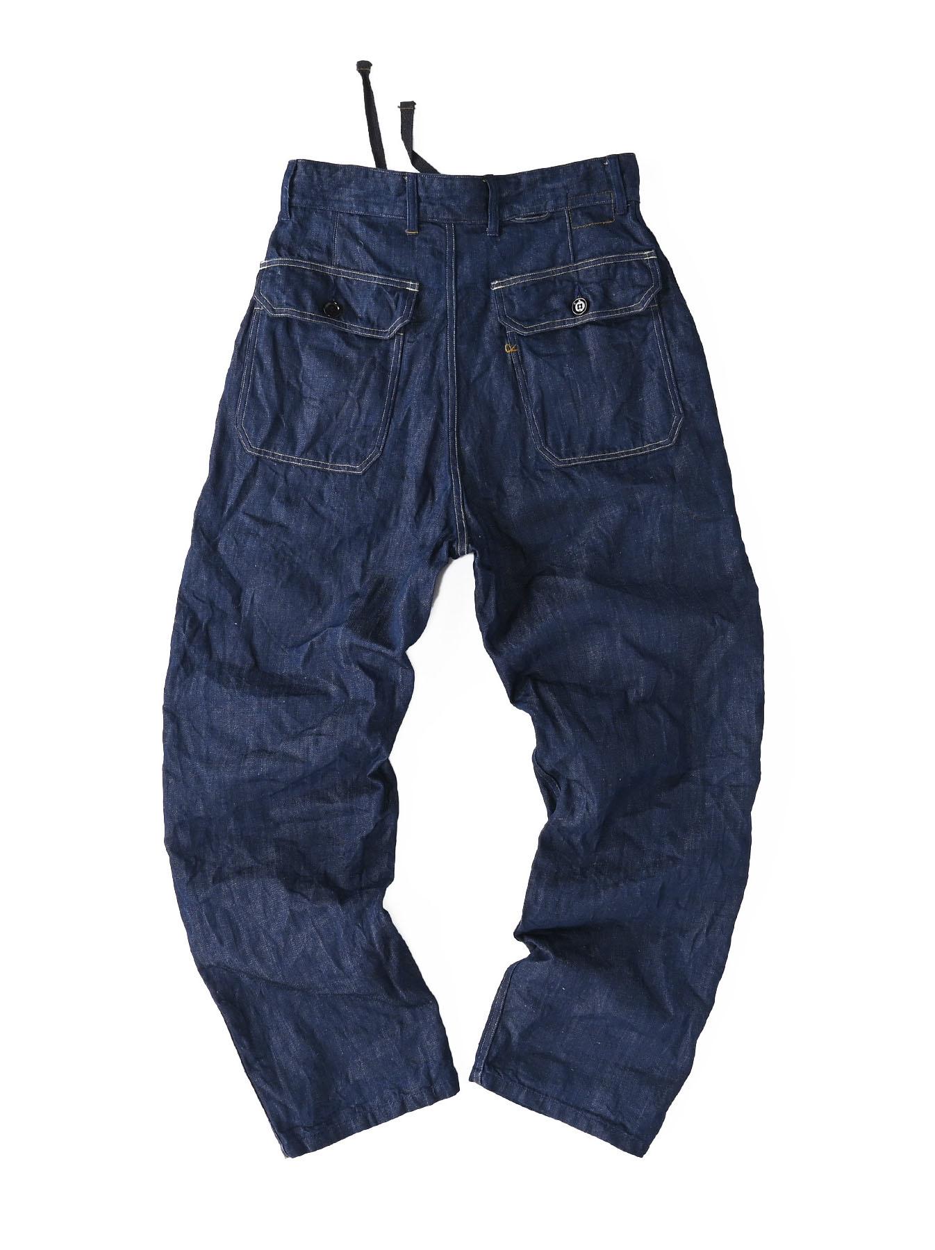 Komugi Cotton Denim 908 Baker Pants 1 (0521)-6