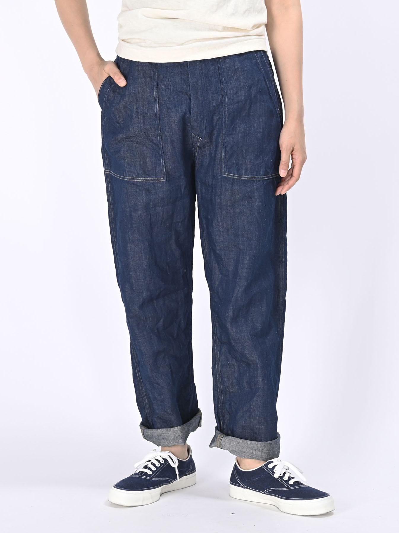 Komugi Cotton Denim 908 Baker Pants 1 (0521)-3