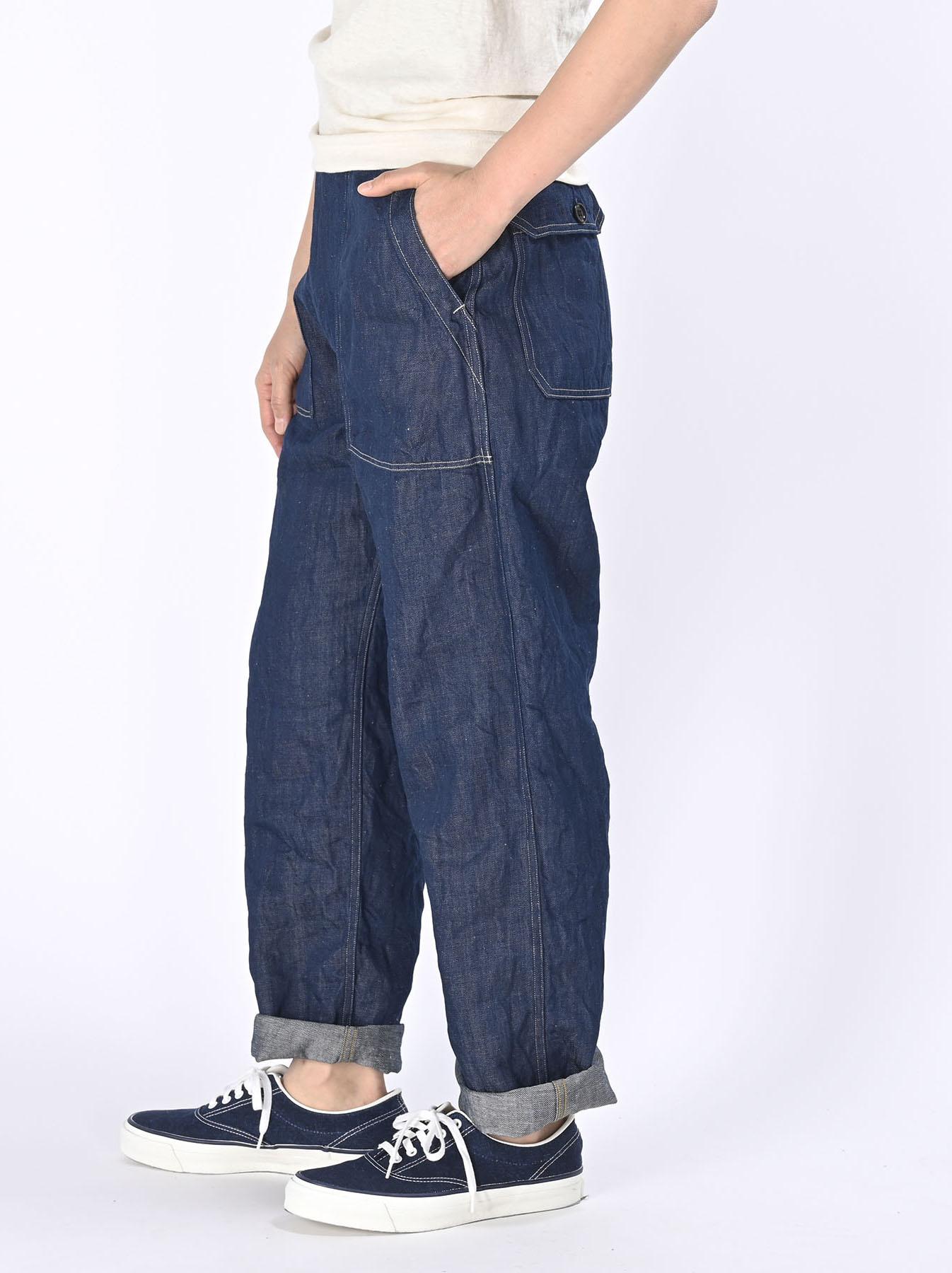 Komugi Cotton Denim 908 Baker Pants 1 (0521)-4