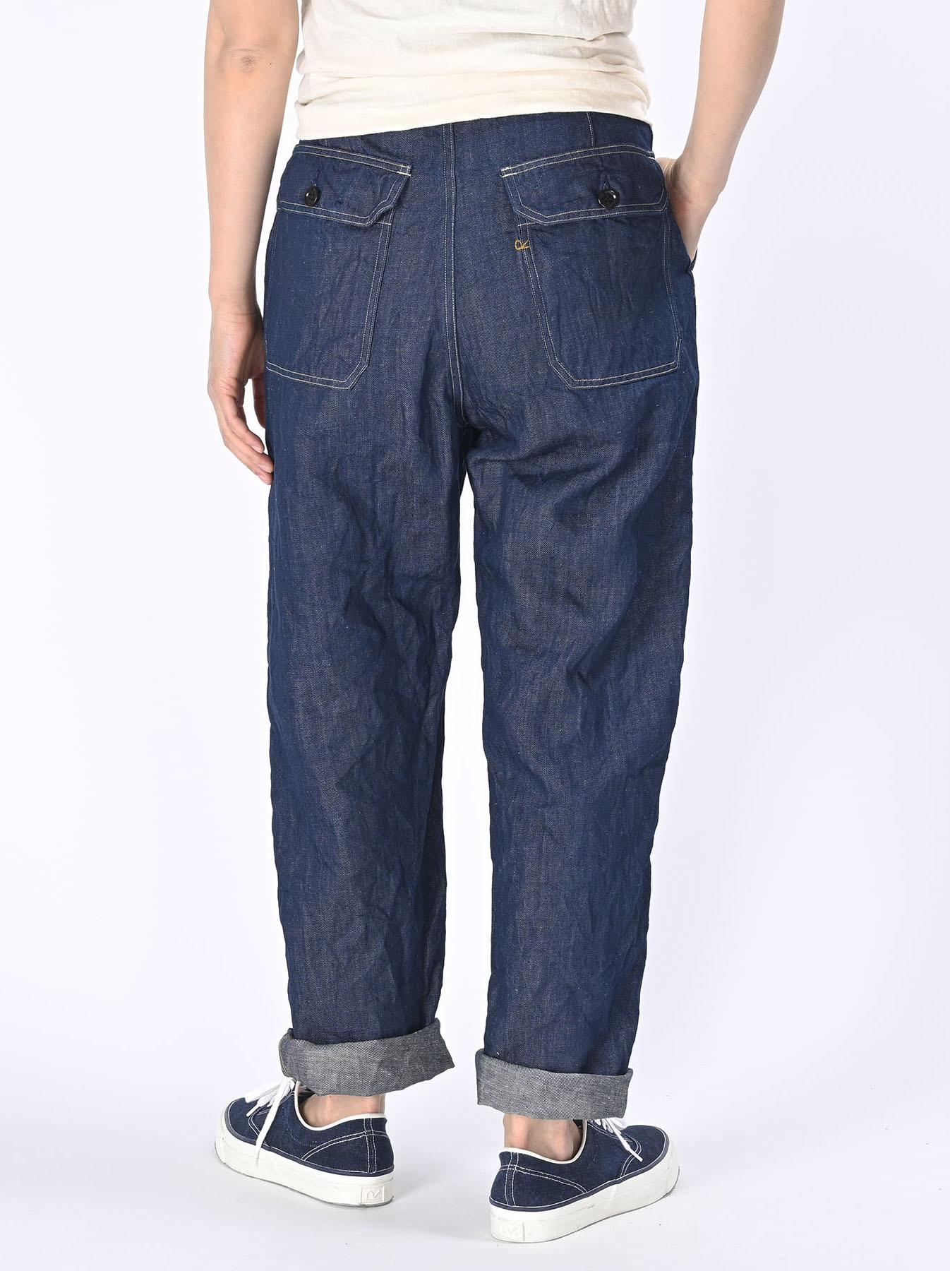 Komugi Cotton Denim 908 Baker Pants 1 (0521)-5