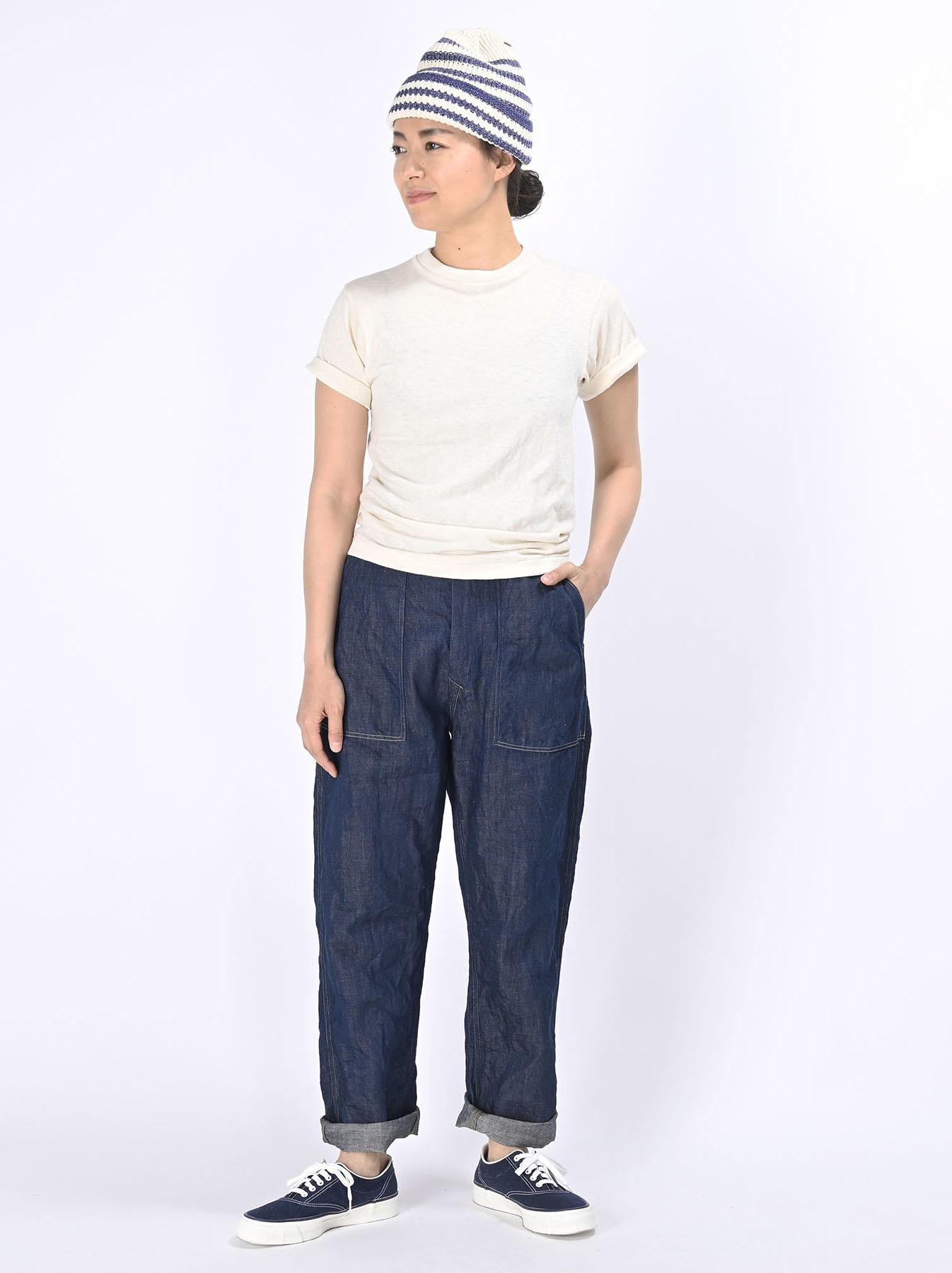 Komugi Cotton Denim 908 Baker Pants 1 (0521)-2