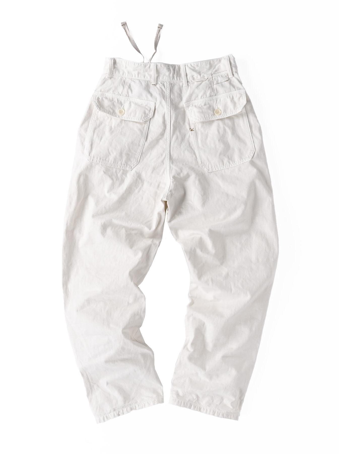 Yacht Cotton White 908 Baker Pants (0521)-4