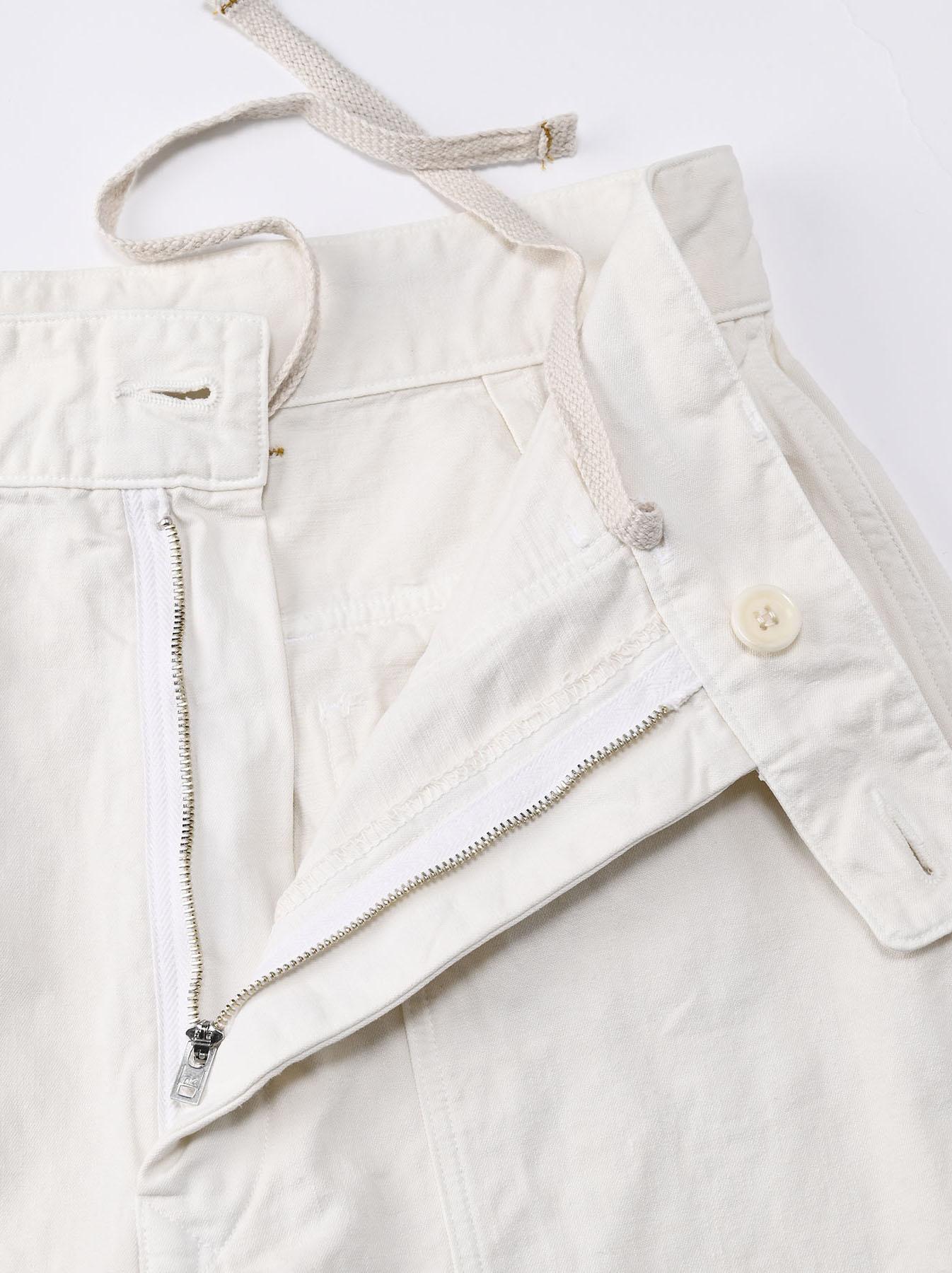 Yacht Cotton White 908 Baker Pants (0521)-11