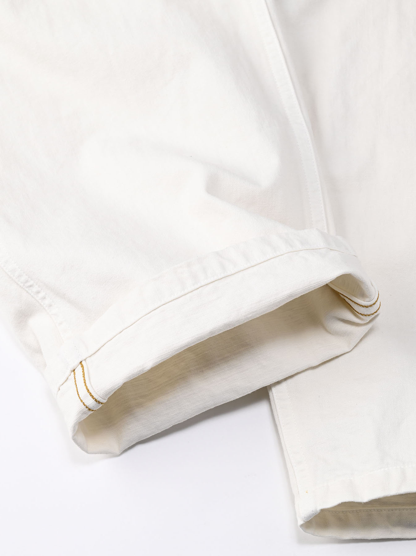 Yacht Cotton White 908 Baker Pants (0521)-12