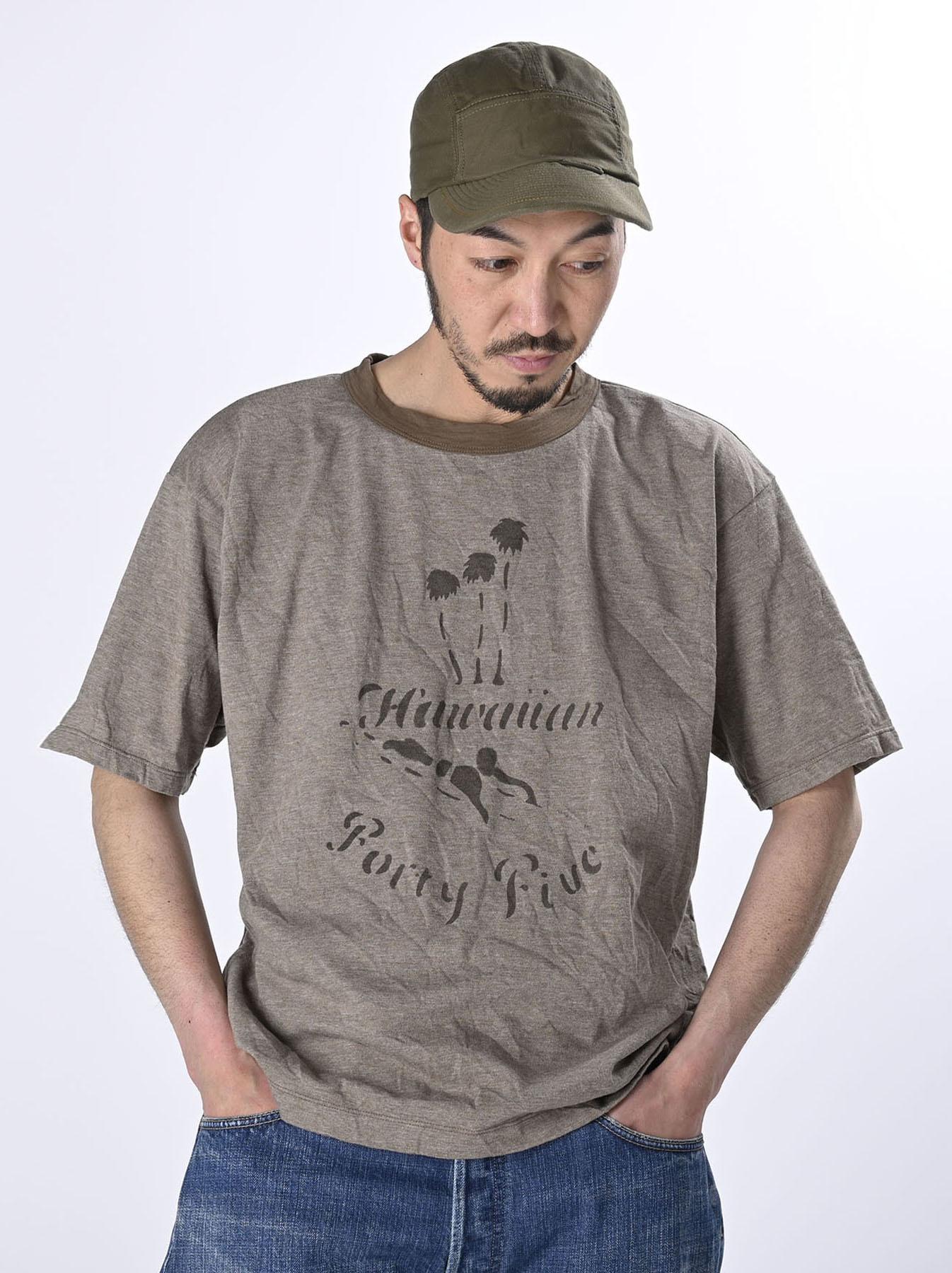 US Tenjiku Paddling 908 Ocean T-Shirt (0521)-4