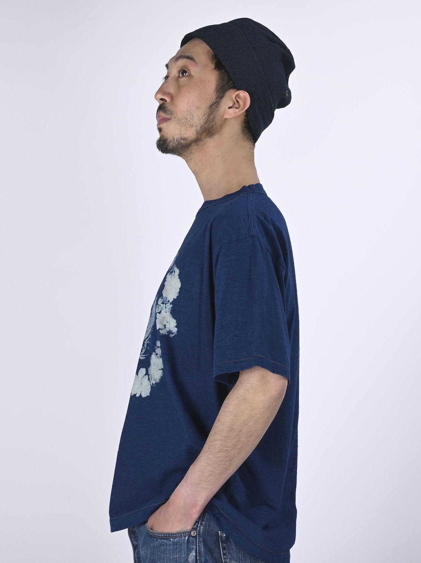 Indigo Lei Surf Print 908 Ocean T-Shirt (0521)-4