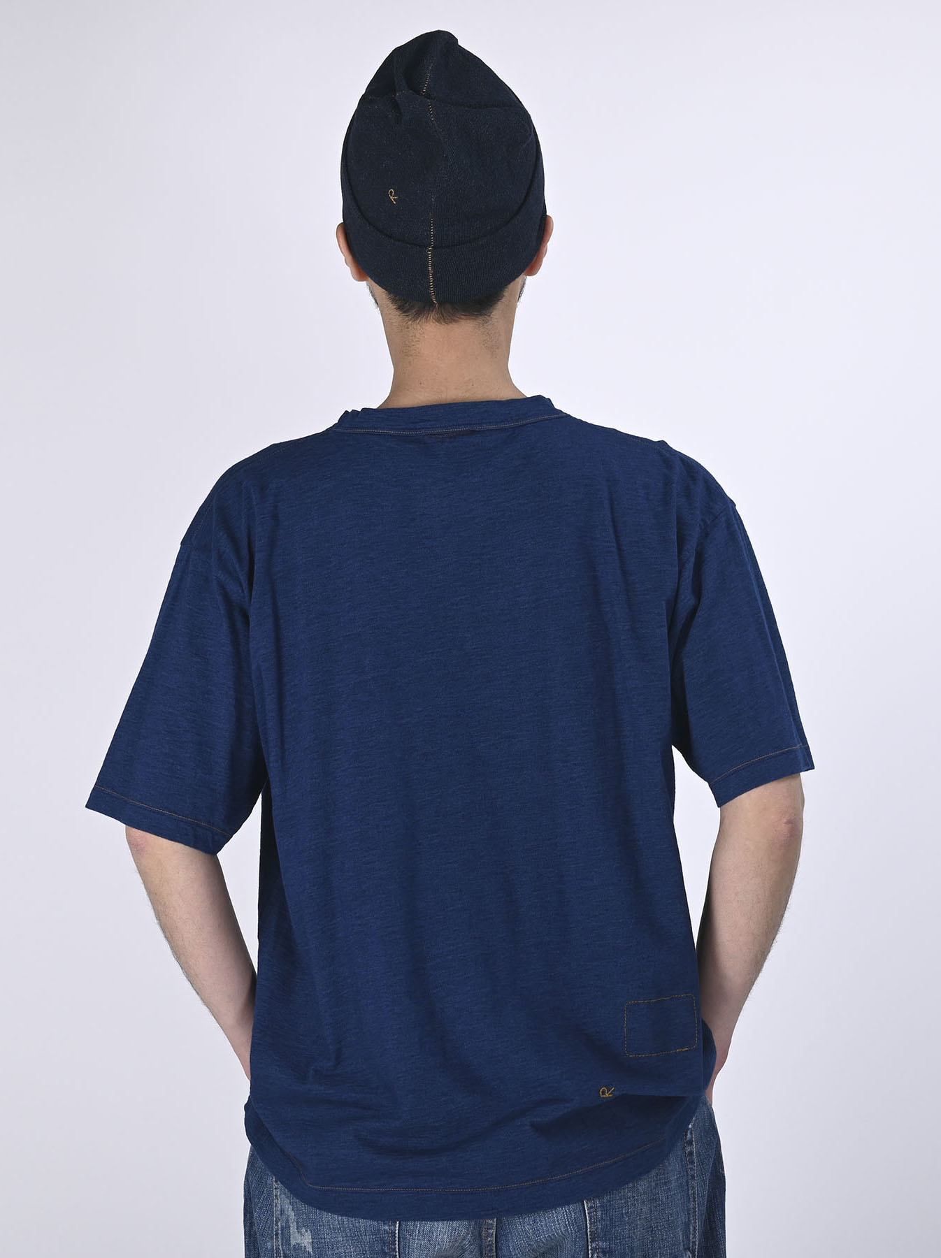 Indigo Lei Surf Print 908 Ocean T-Shirt (0521)-5
