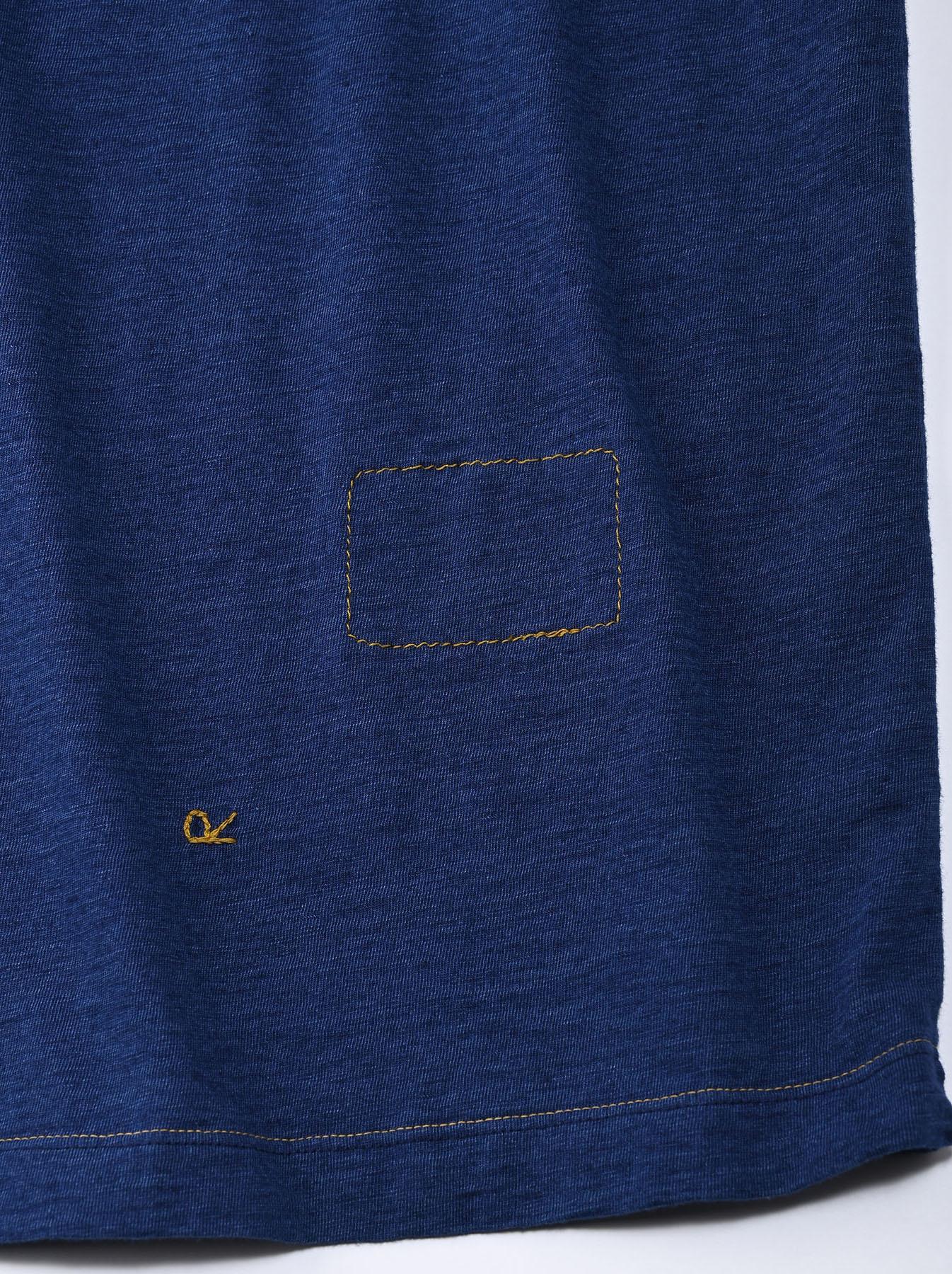 Indigo Lei Surf Print 908 Ocean T-Shirt (0521)-10