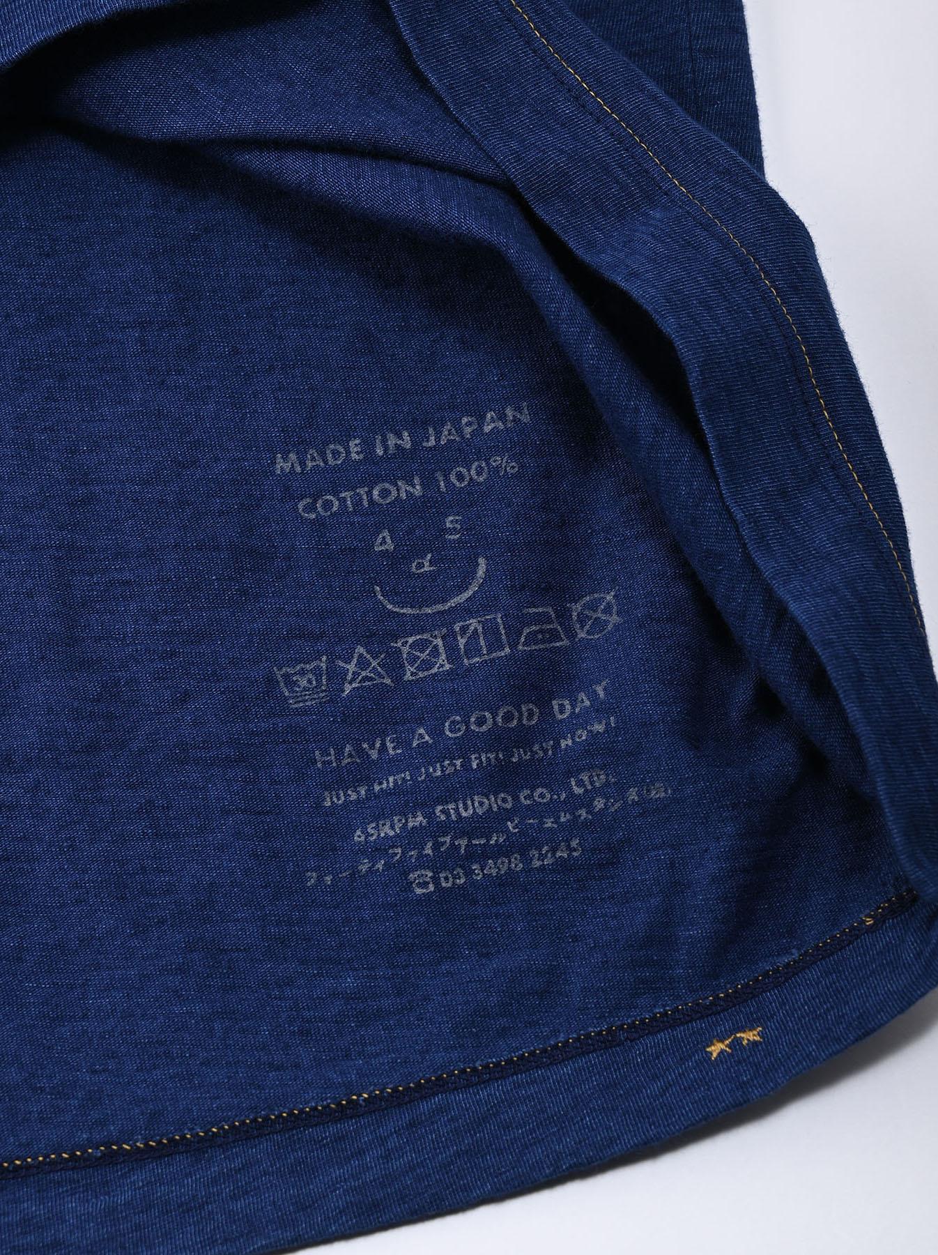 Indigo Lei Surf Print 908 Ocean T-Shirt (0521)-12