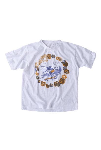 Lei Surf Print 908 Ocean T-Shirt (0521)