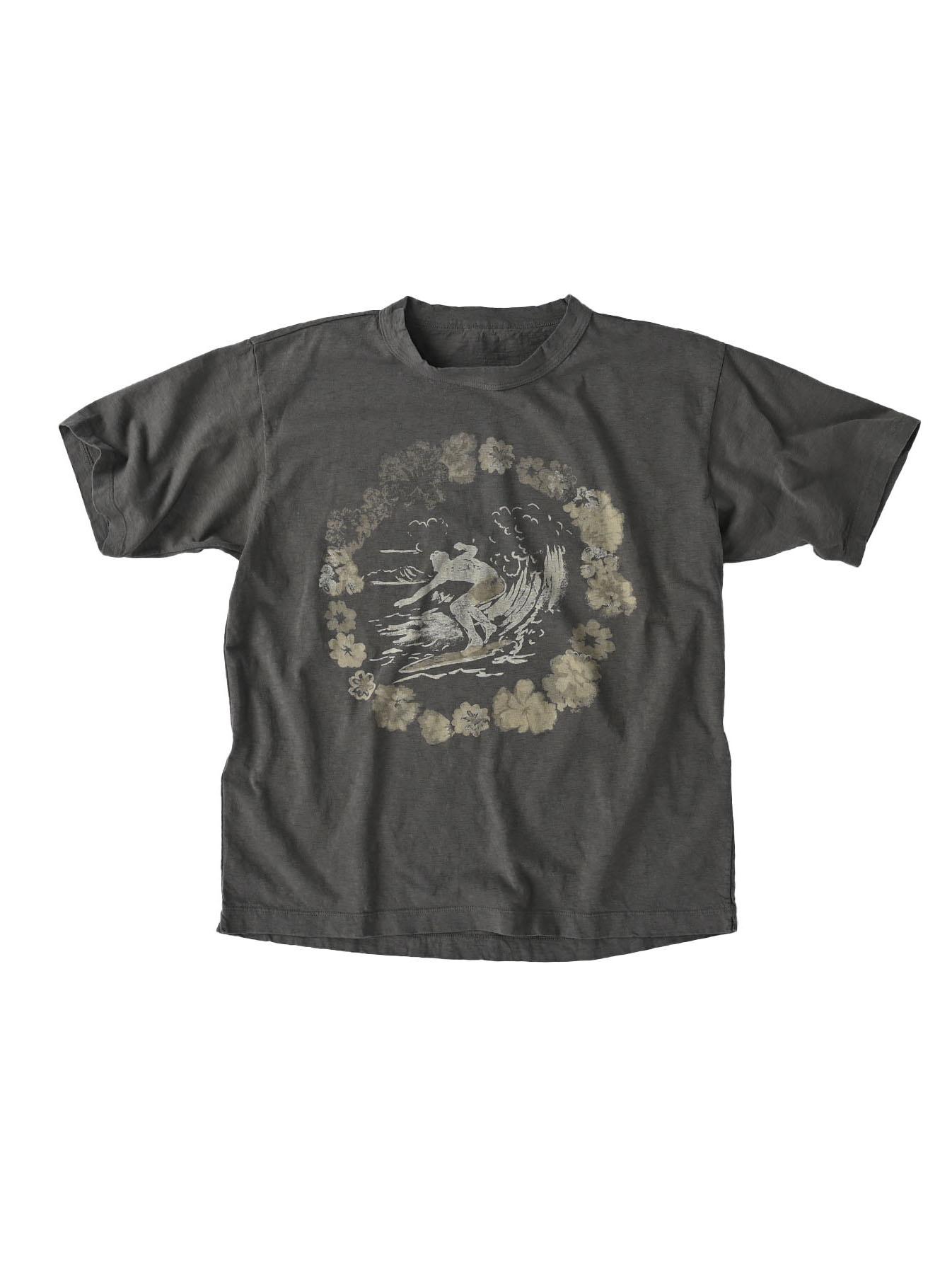 Lei Surf Print 908 Ocean T-Shirt (0521)-6