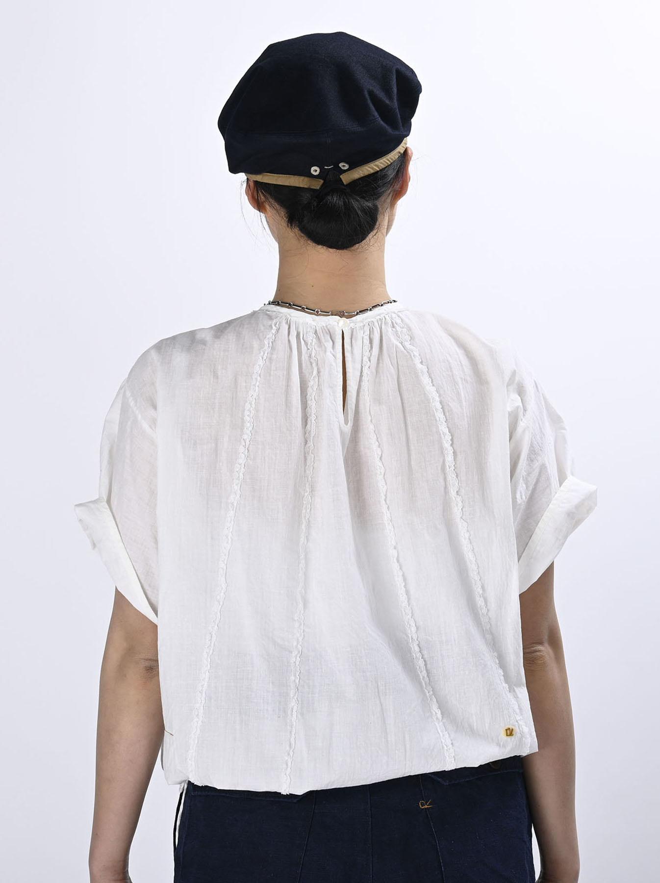 Khadi Lace de T-shirt (0521)-3