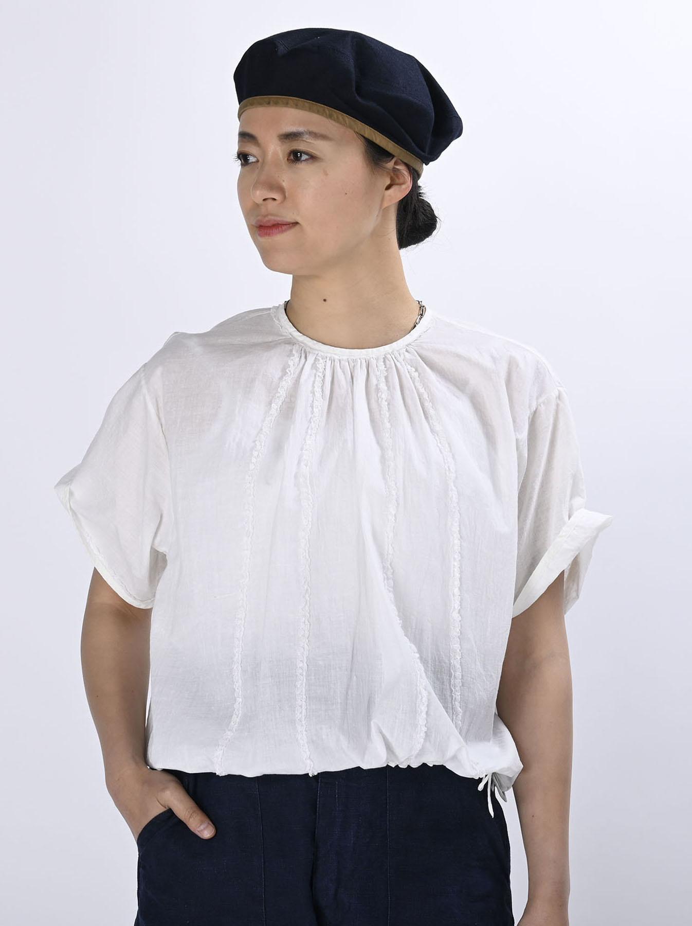 Khadi Lace de T-shirt (0521)-5