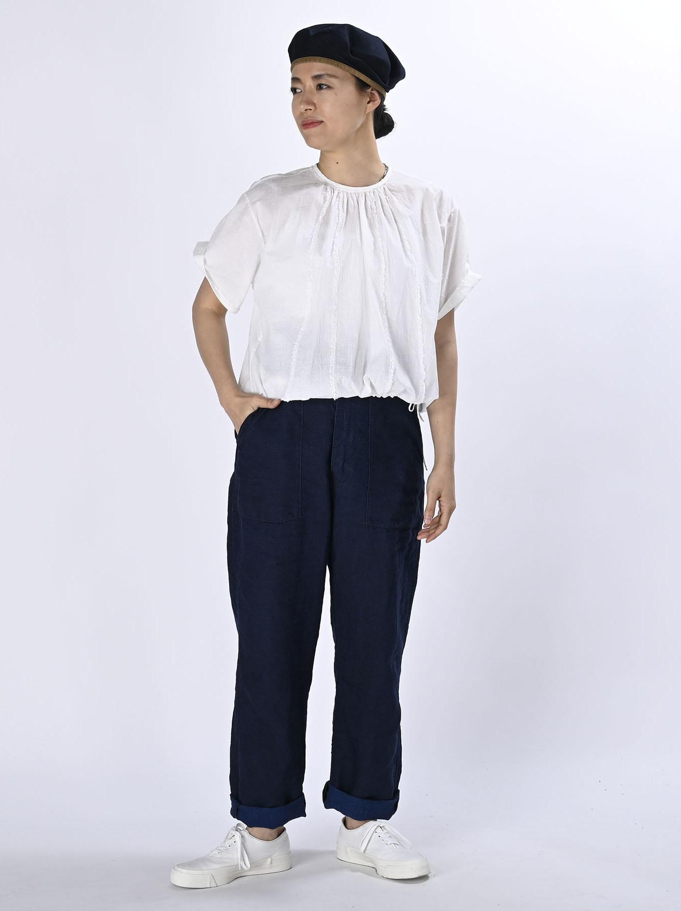 Khadi Lace de T-shirt (0521)-2