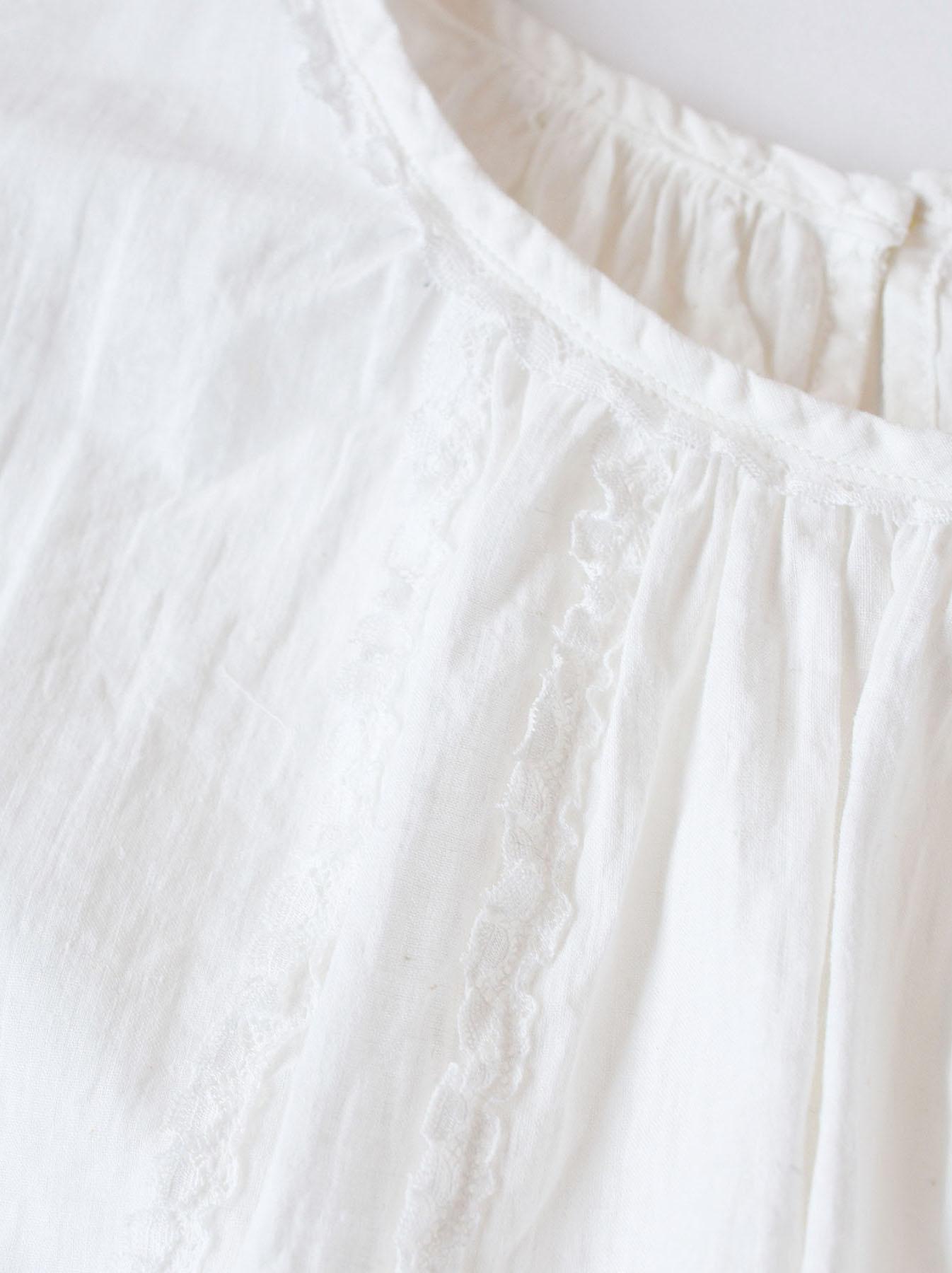 Khadi Lace de T-shirt (0521)-11