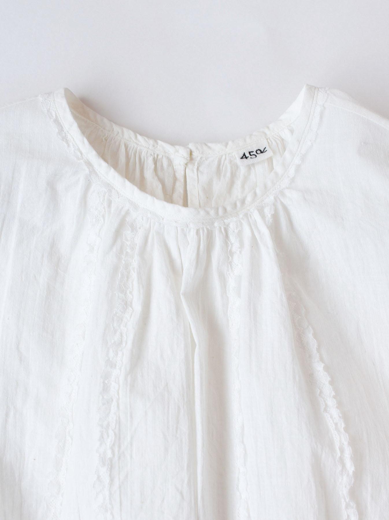 Khadi Lace de T-shirt (0521)-12