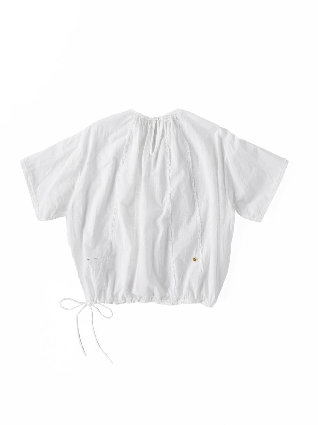 Khadi Lace de T-shirt (0521)-6