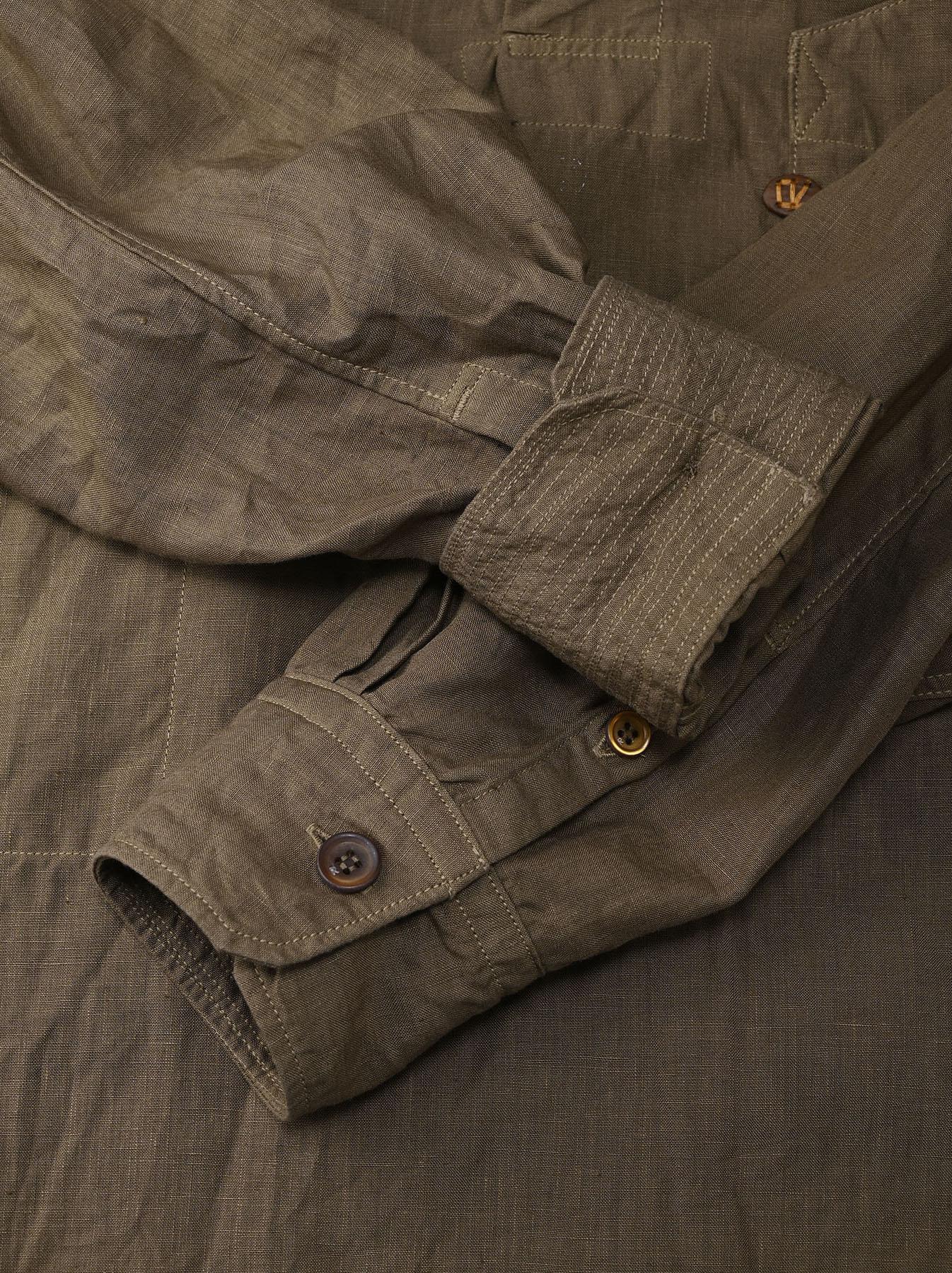 Linen 908 Ocean Pull Shirt (0521)-9