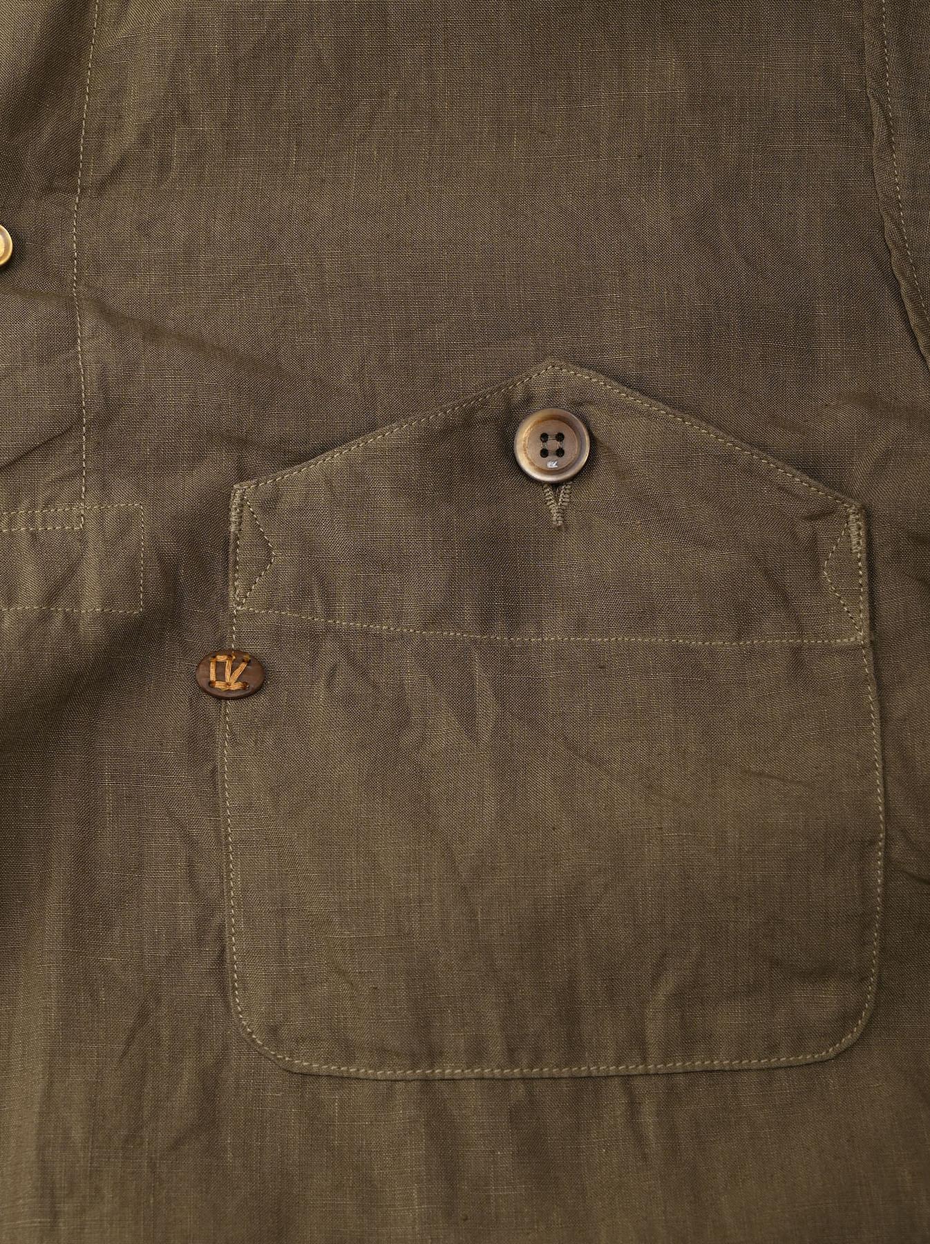 Linen 908 Ocean Pull Shirt (0521)-10