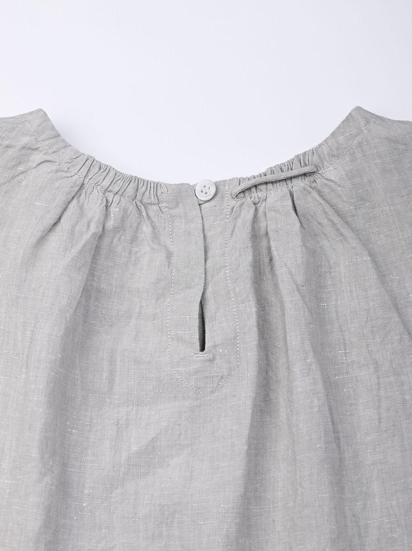 Indian Linen Dress (0521)-7