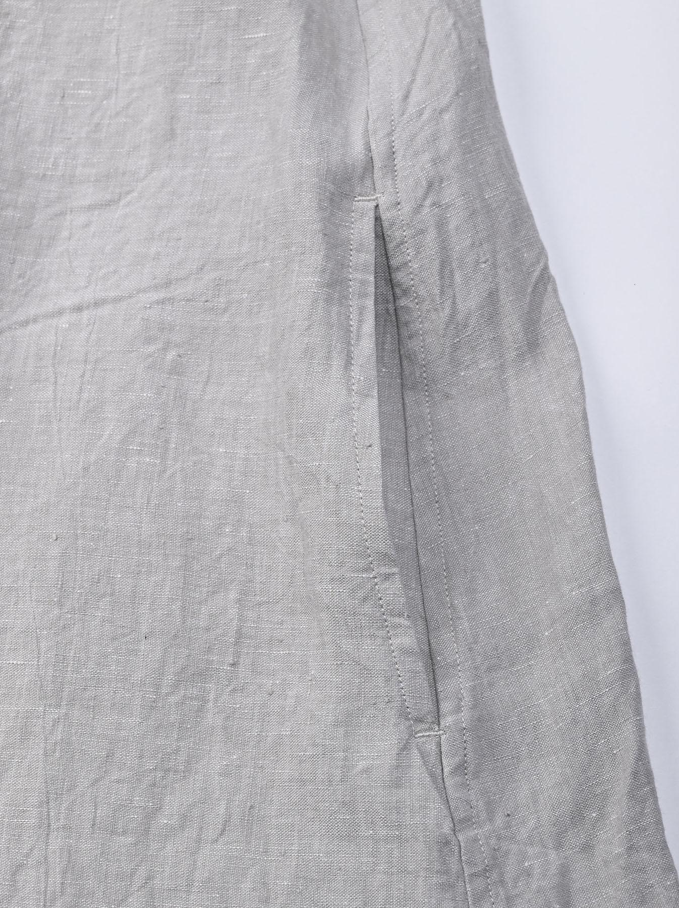 Indian Linen Dress (0521)-9