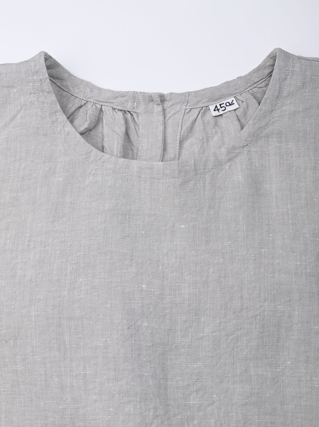 Indian Linen Dress (0521)-6