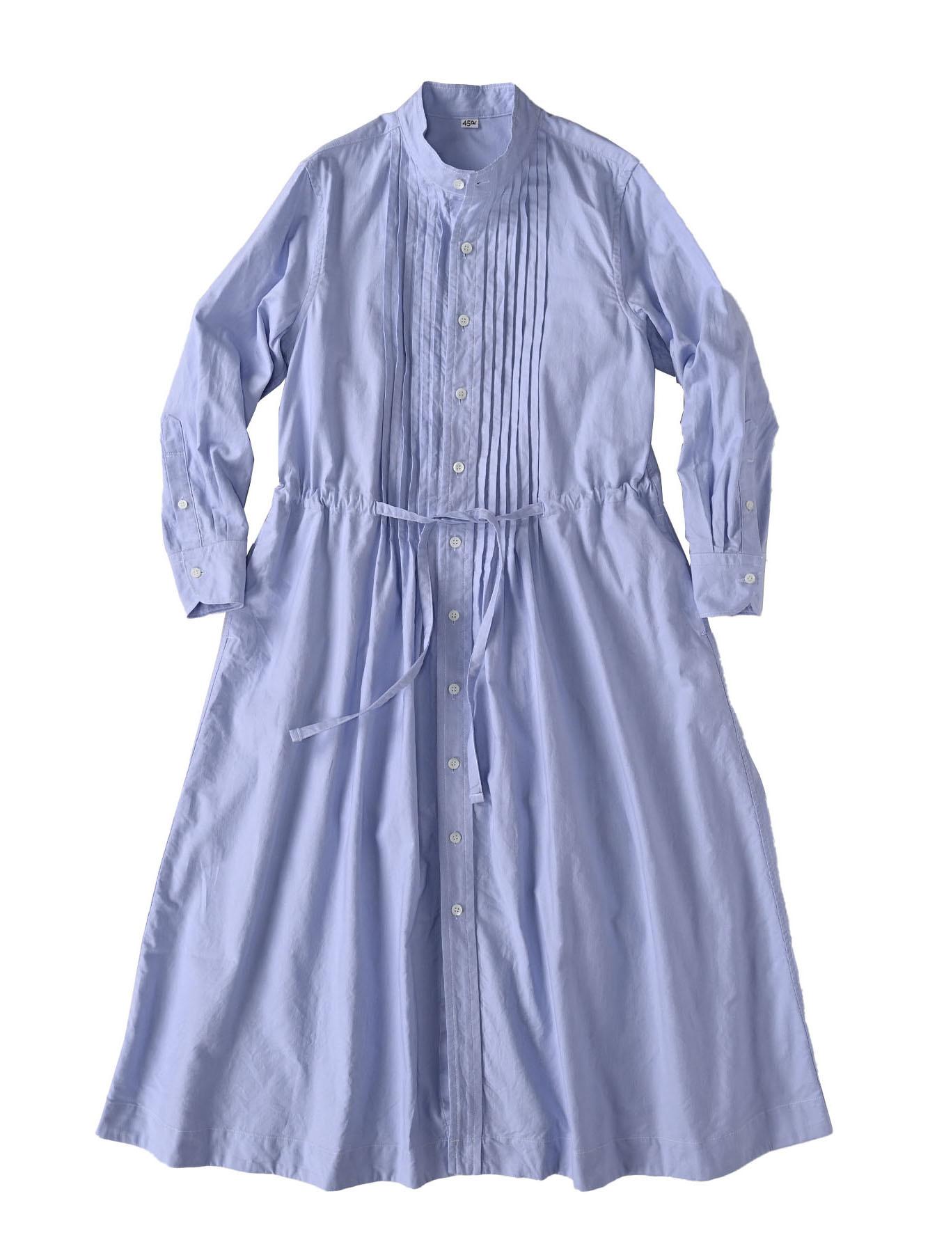 Zimbabwe Cotton Oxford Tuck Shirt Dress (0521)-6