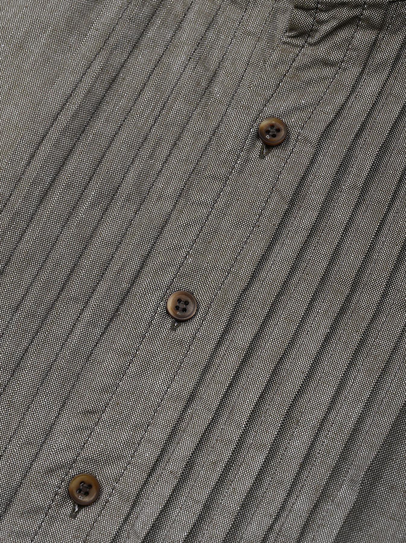Zimbabwe Cotton Oxford Tuck Shirt Dress (0521)-12