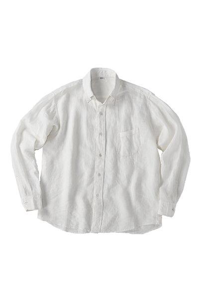 Indian Linen Flat 908 Ocean Shirt (0521)