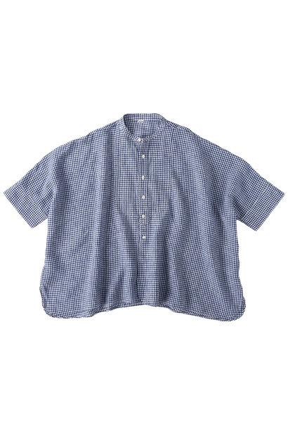 Indian Linen Flat Big Shirt (0521)
