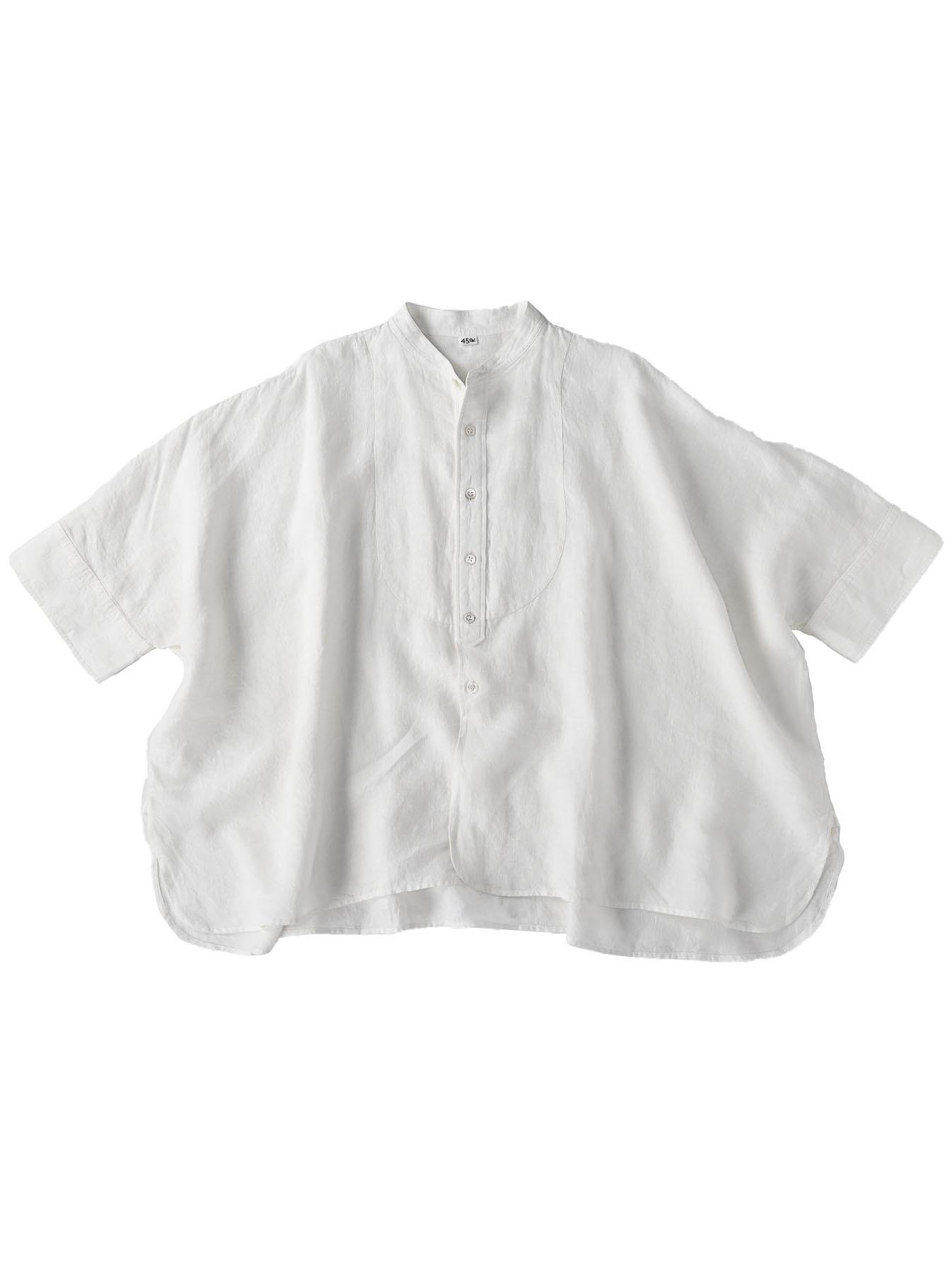Indian Linen Flat Big Shirt (0521)-2