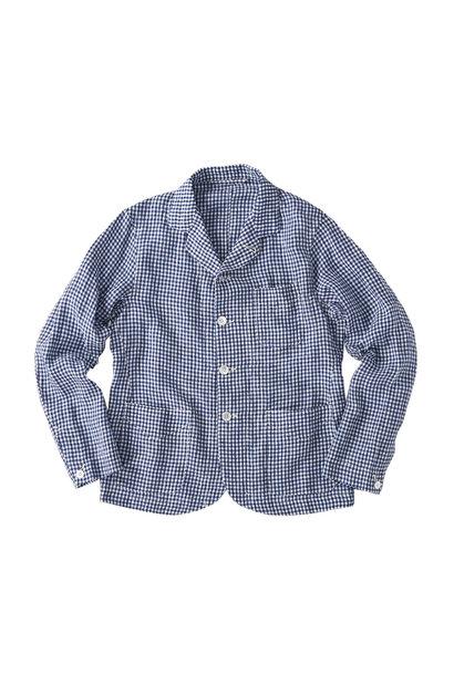 Indian Linen Flat Shirt Jacket (0521)
