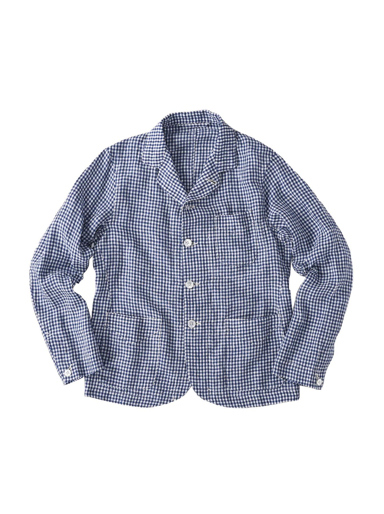 Indian Linen Flat Shirt Jacket (0521)-1