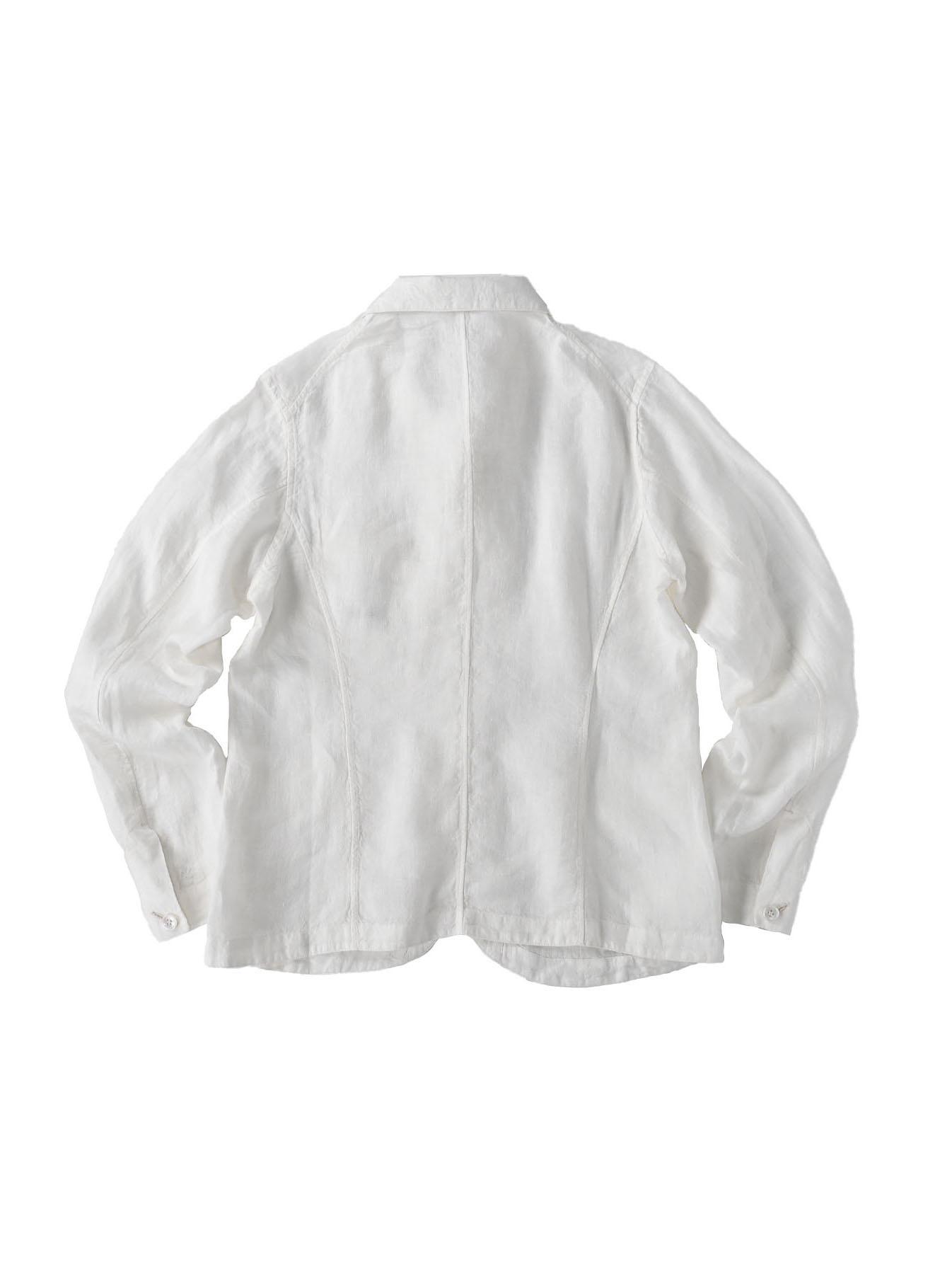 Indian Linen Flat Shirt Jacket (0521)-7