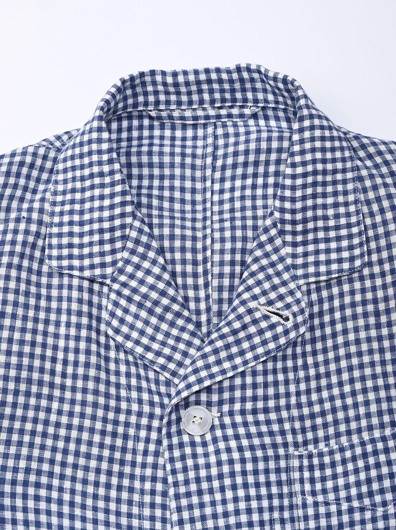 Indian Linen Flat Shirt Jacket (0521)-8