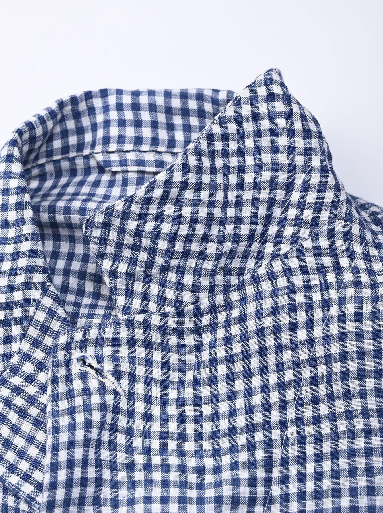 Indian Linen Flat Shirt Jacket (0521)-9