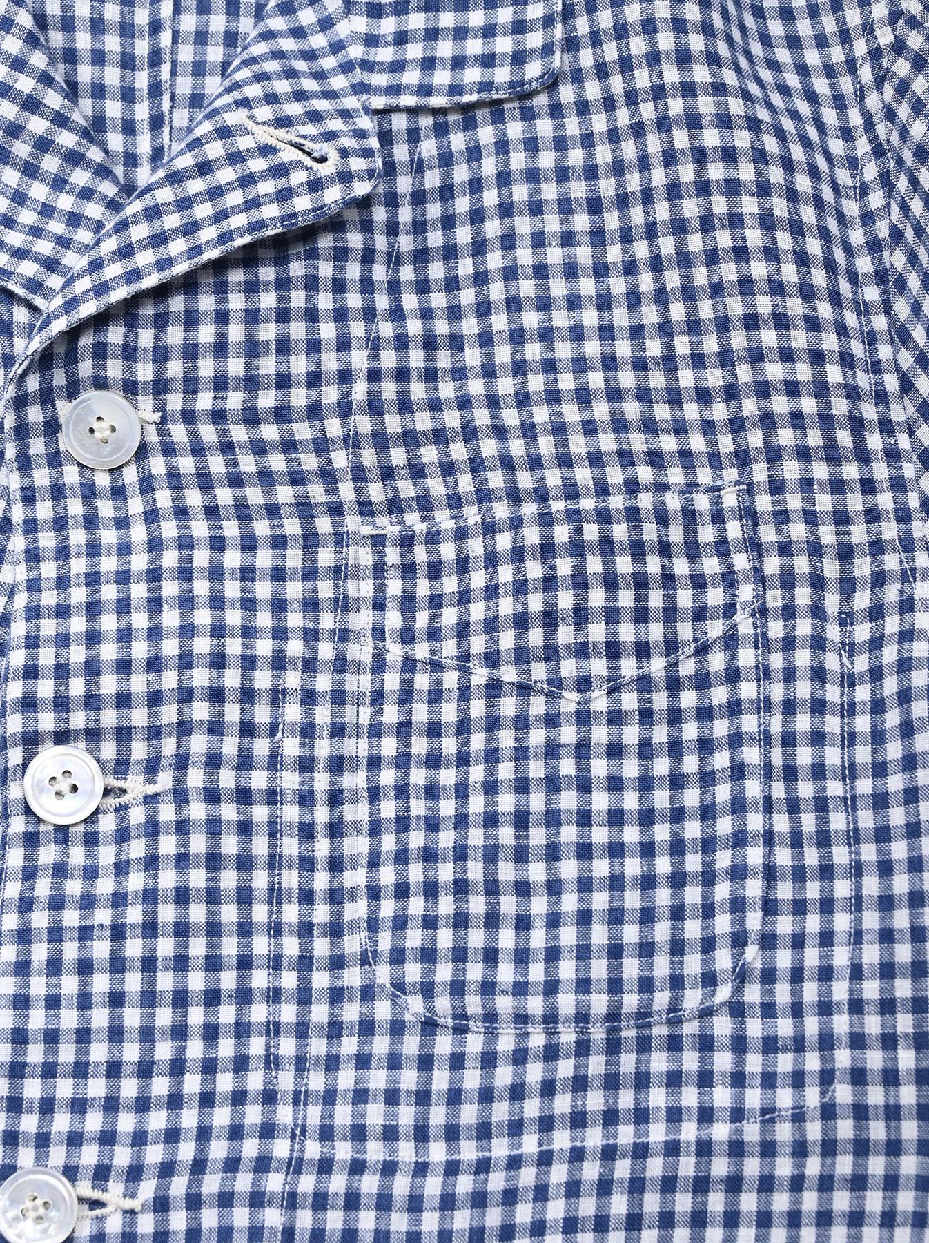 Indian Linen Flat Shirt Jacket (0521)-10