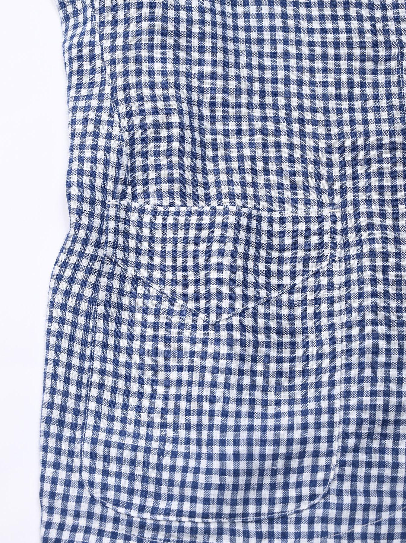 Indian Linen Flat Shirt Jacket (0521)-11