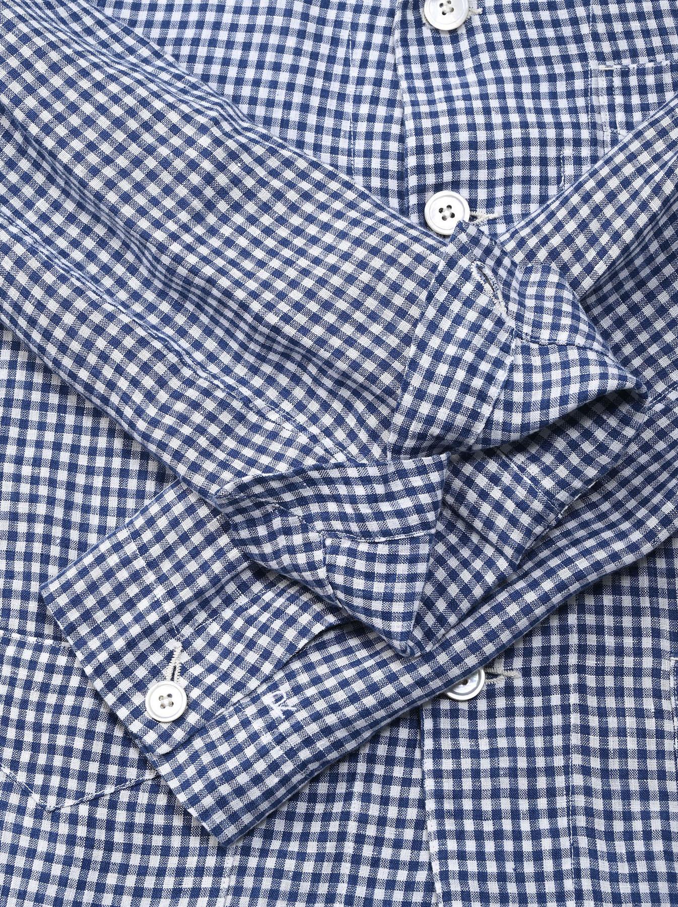 Indian Linen Flat Shirt Jacket (0521)-12