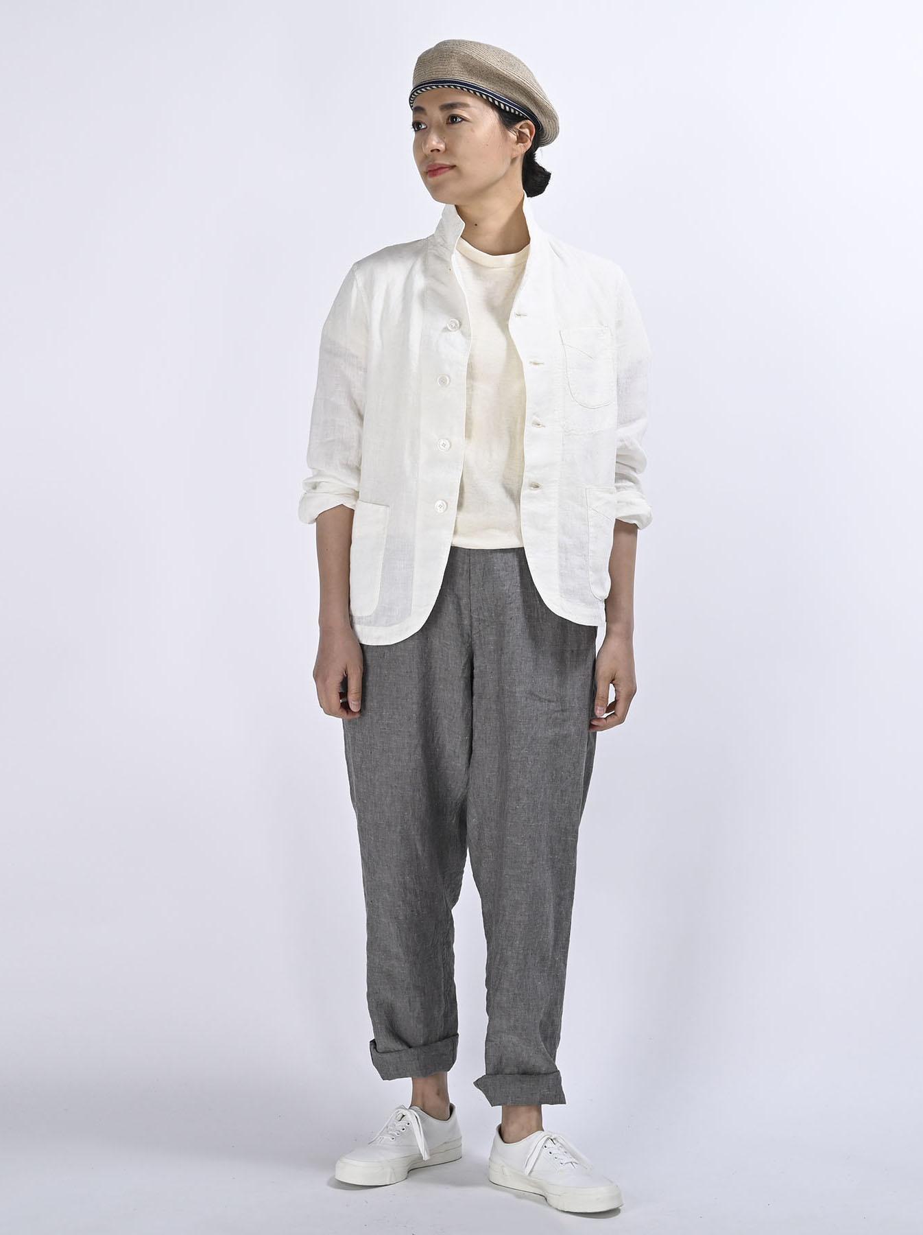 Indian Linen Flat Shirt Jacket (0521)-2