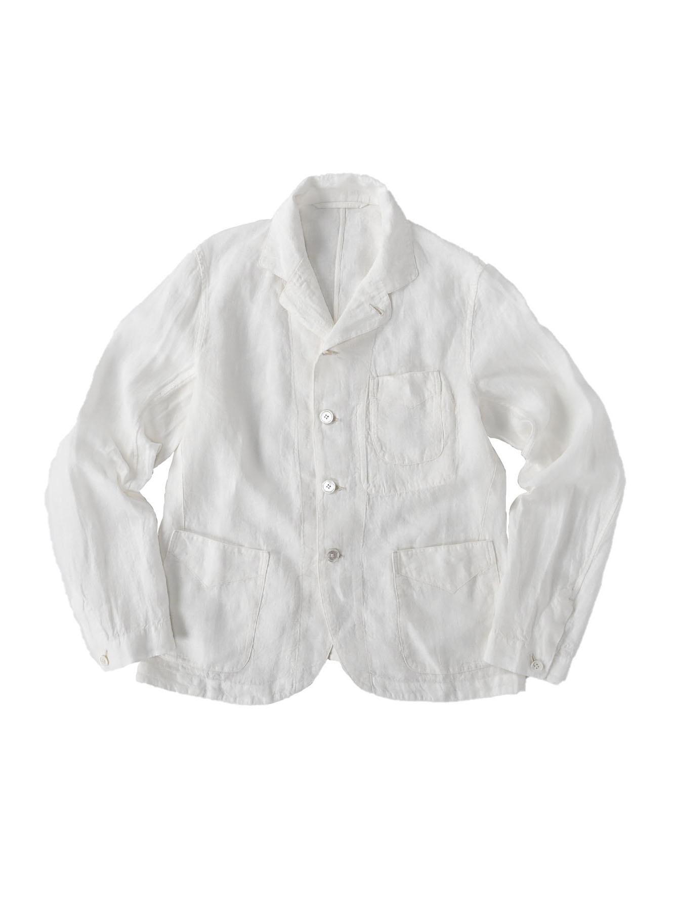 Indian Linen Flat Shirt Jacket (0521)-6