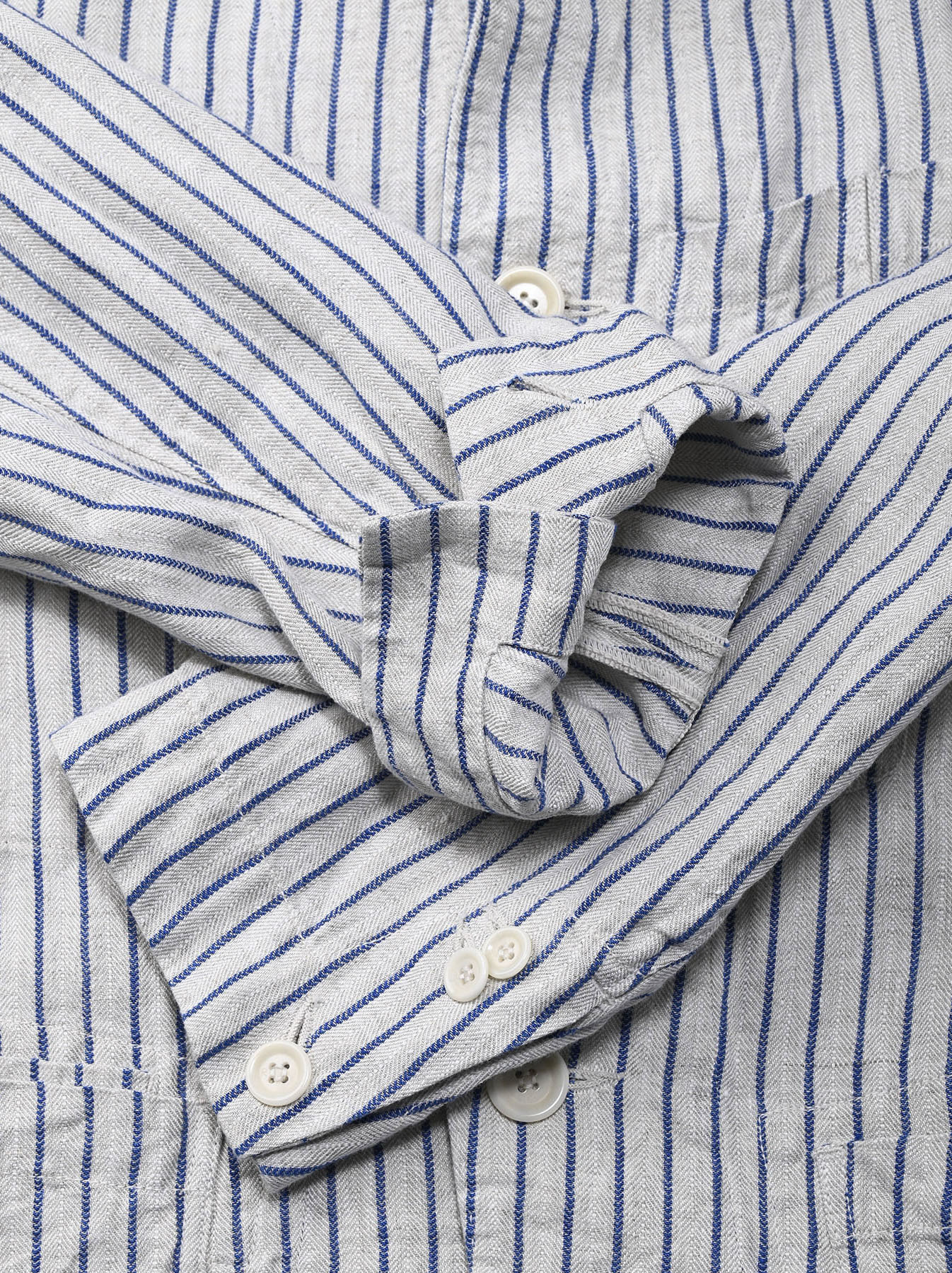 Indian Linen Twill Asama Jacket (0521)-9