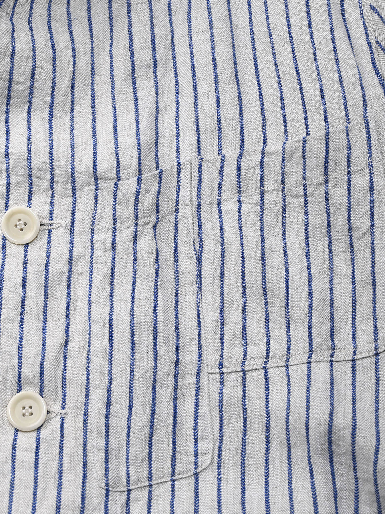 Indian Linen Twill Asama Jacket (0521)-10
