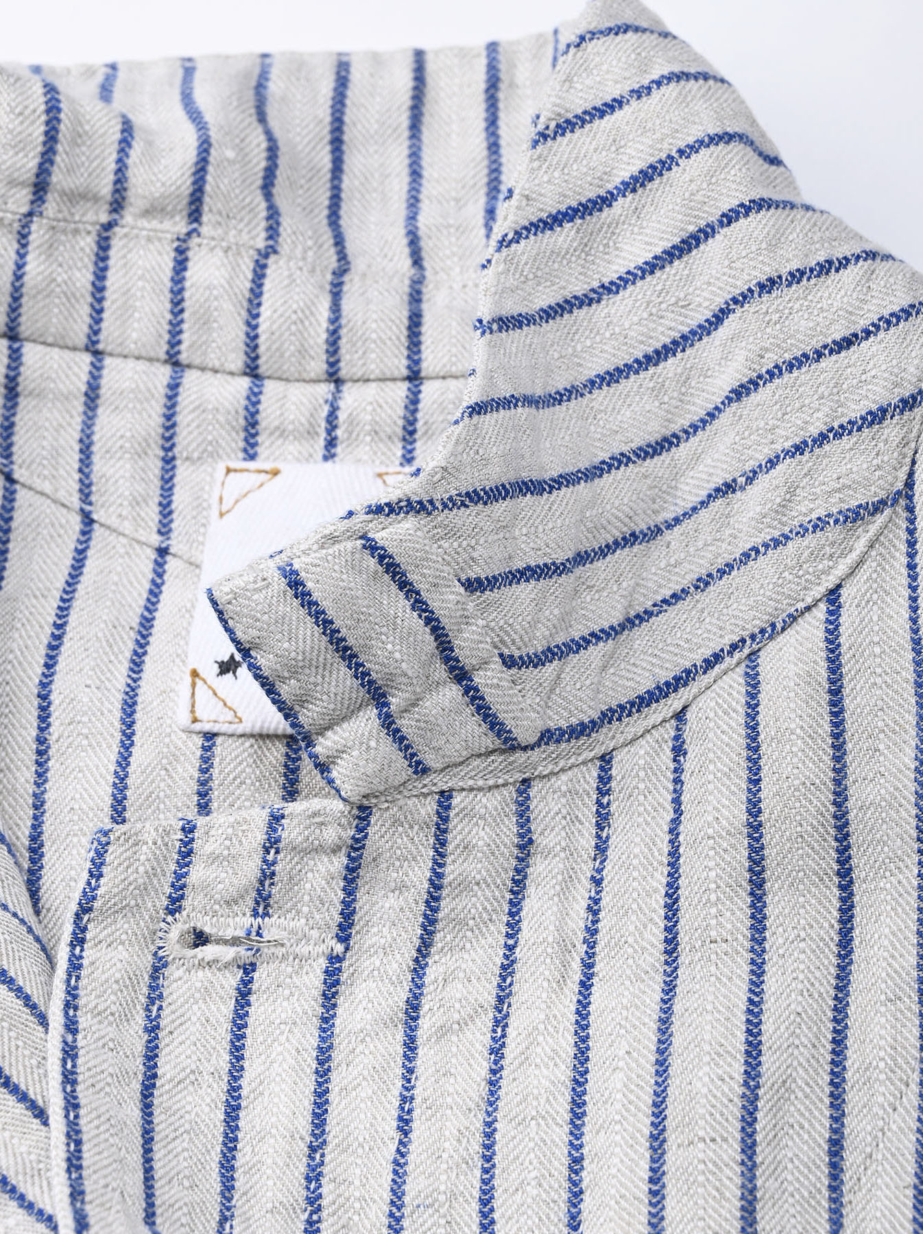 Indian Linen Twill Asama Jacket (0521)-11