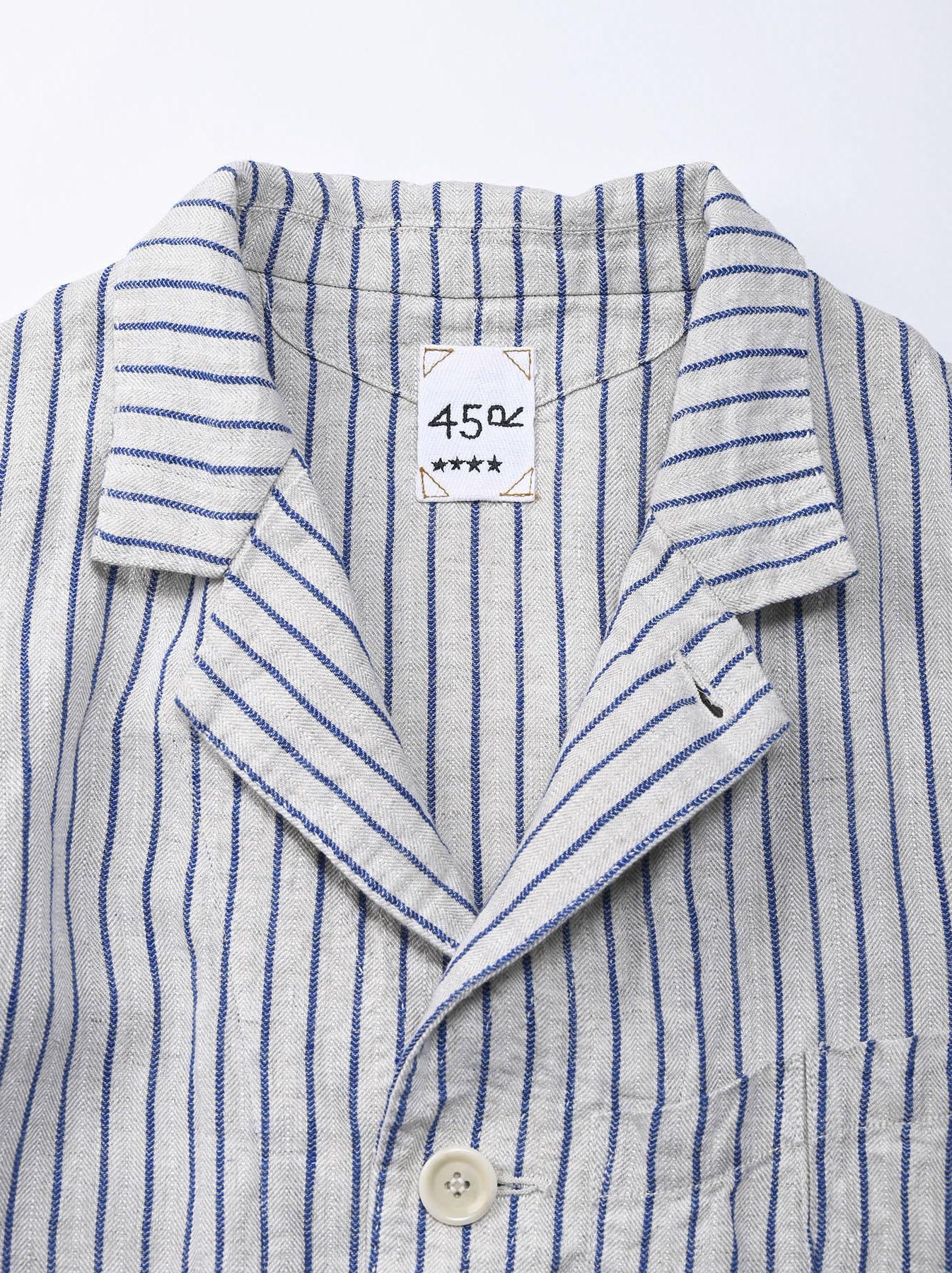 Indian Linen Twill Asama Jacket (0521)-7