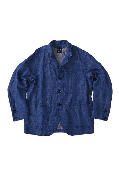 Indian Linen Twill Asama Jacket (0521)