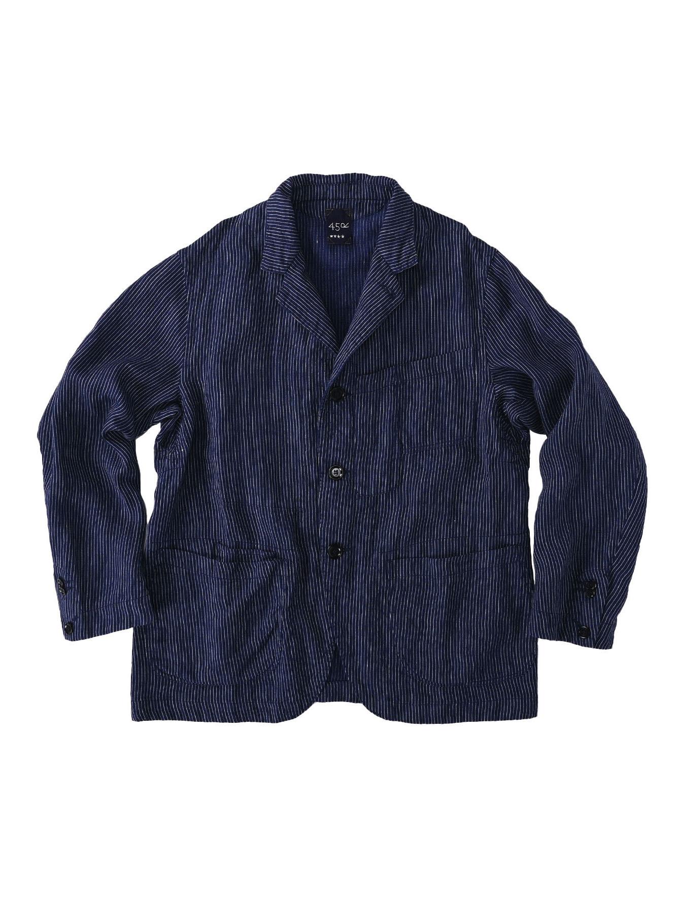Indian Linen Twill Asama Jacket (0521)-2