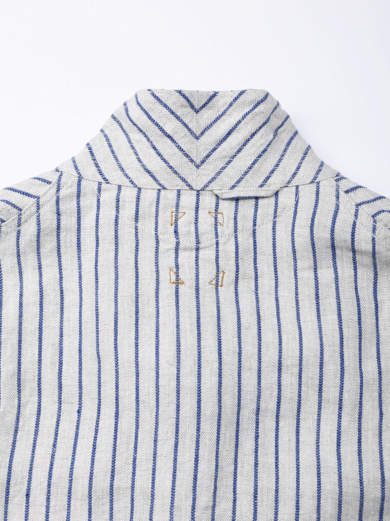 Indian Linen Twill Asama Jacket (0521)-8